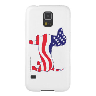 Patriotic Dachshund Galaxy S5 Cover