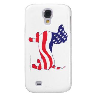 Patriotic Dachshund Samsung Galaxy S4 Case
