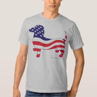 Patriotic Dachshund / Weiner T Shirt
