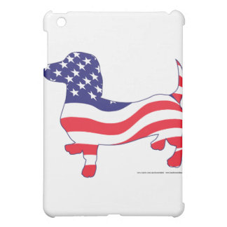 Patriotic Dachshund / Wiener iPad Mini Cover
