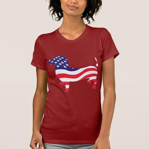 Patriotic Dachshund / Wiener Shirt
