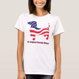 Patriotic Dachshund / Wiener T-Shirt