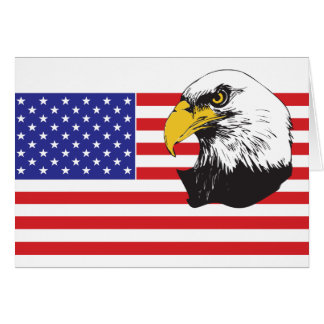 Patriotic Dad/Father's Day Greeting Card