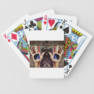 Patriotic Day Bicycle Playing Cards
