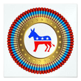 Patriotic Democrat Invitation - SRF