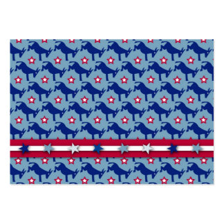 Patriotic Dems Gift Tag Business Card Template