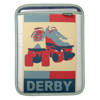 Patriotic Derby Sleeves For iPads