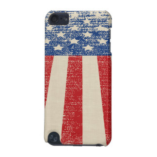 Patriotic Distressed American  Flag iPod Touch 5G Case