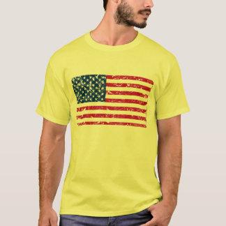 Patriotic Distressed American Flag - Shirt