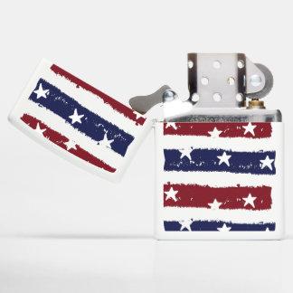 Patriotic Distressed Stars and Stripes Zippo Zippo Lighter