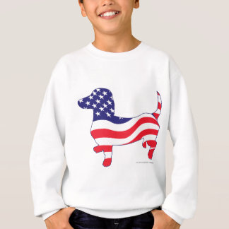 Patriotic Doxie Sweatshirt