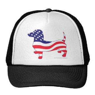 Patriotic Doxie Trucker Hat