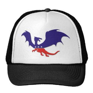 Patriotic Dragon Trucker Hat