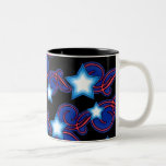 Patriotic Dreams Spiral & Stars Mug