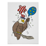Patriotic Eagle (2) Print
