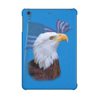 Patriotic  Eagle and USA Flag  Customizable iPad Mini Retina Cases