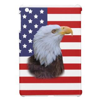 Patriotic  Eagle and USA Flag iPad Mini Covers