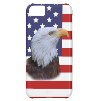 Patriotic Eagle and USA Flag iPhone 5C Cases