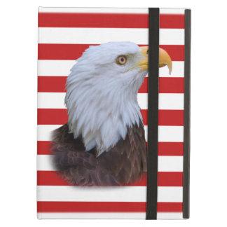 Patriotic  Eagle and USA Flag Powis  iPad Case