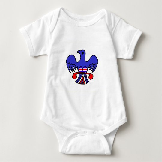 Patriotic Eagle Baby Bodysuit