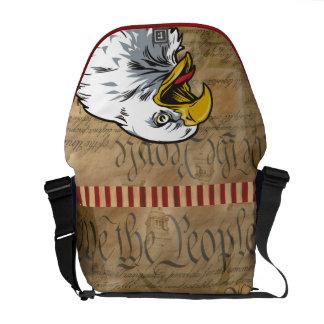 Patriotic Eagle Bag - SRF Messenger Bags