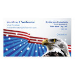 Patriotic Eagle Business Card