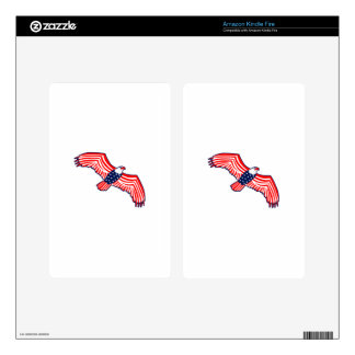 Patriotic Eagle Decal For Kindle Fire