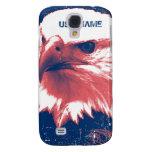 Patriotic Eagle - Grunge Art Galaxy S4 Case