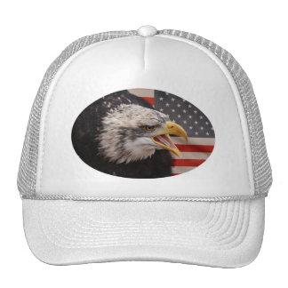 Patriotic Eagle Image Baseball Hat