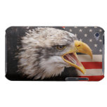 Patriotic Eagle Image iTouch Case iPod Case-Mate Cases