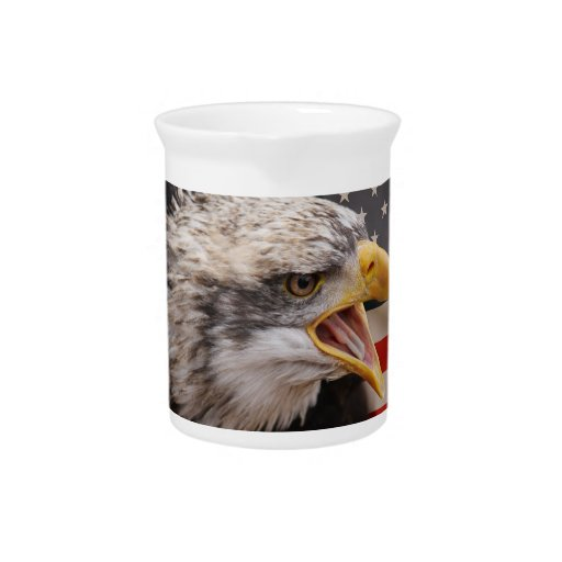 Patriotic Eagle Image Pitcher