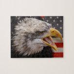 Patriotic Eagle Image Puzzle