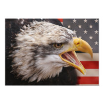 Patriotic Eagle Invitation