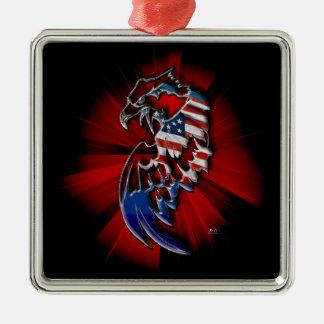 Patriotic Eagle Ornaments