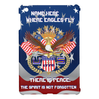 Patriotic Eagle Please View Artist Comments Case For The iPad Mini