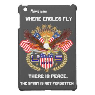 Patriotic Eagle Please View Artist Comments iPad Mini Cases