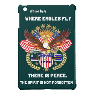 Patriotic Eagle Please View Artist Comments Case For The iPad Mini