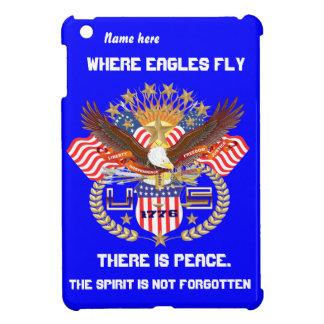 Patriotic Eagle Please View Artist Comments iPad Mini Case