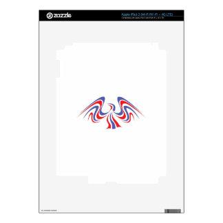 PATRIOTIC EAGLE SKINS FOR iPad 3