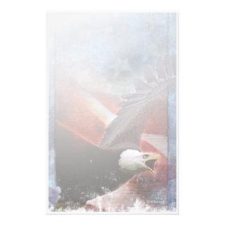 Patriotic Eagle-Stationary Stationery