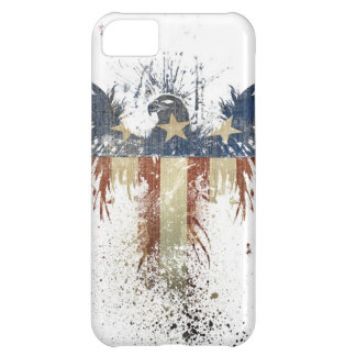 Patriotic eagle, US/USA, SAD flag Cover For iPhone 5C
