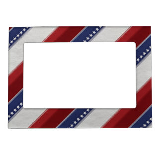 Patriotic Elements Magnetic Picture Frame