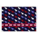 Patriotic Elephants Card