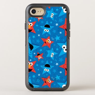 Patriotic Elmo and Cookie Monster Pattern OtterBox Symmetry iPhone 8/7 Case