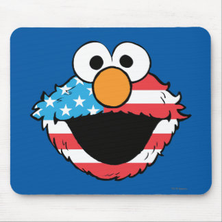Patriotic Elmo Mouse Pad