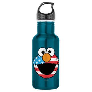 Patriotic Elmo Water Bottle
