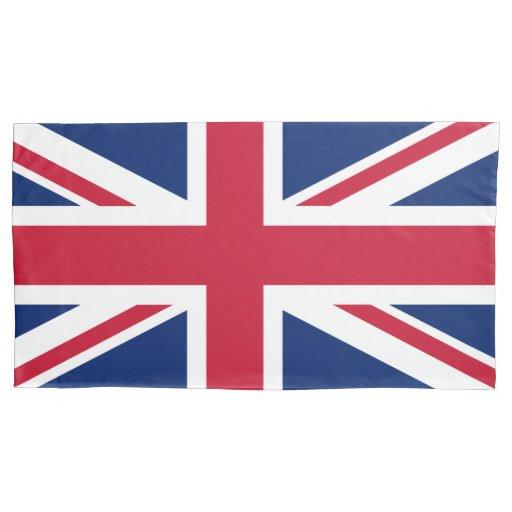 Patriotic English Flag Union Jack British Pillow Case