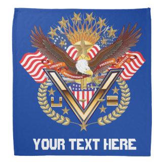 Patriotic Family or Veteran View About Design Bandana