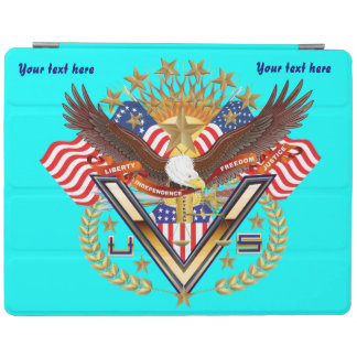 Patriotic Family View About Design Below 2-3-4 iPad Cover