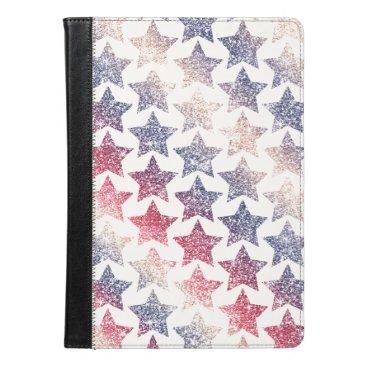 Patriotic Faux Glitter Stars iPad Air Case